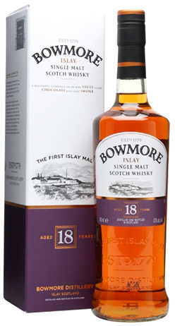 Bowmore Scotch Single Malt 18 Year
